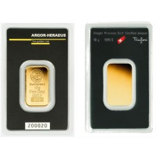 Argor-Heraeus Gold Bar - 10g