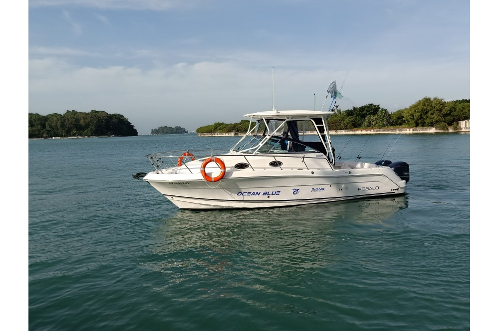 Pioneer Ocean Blue fishing yacht – up to 10 pax